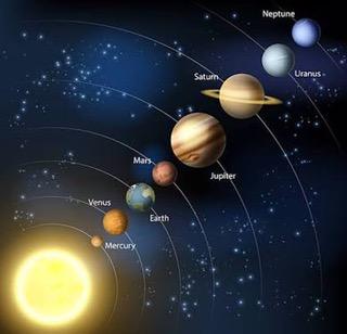 セーラームーンと惑星の話
